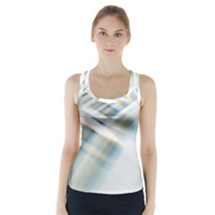 Business Background Abstract Racer Back Sports Top by Simbadda
