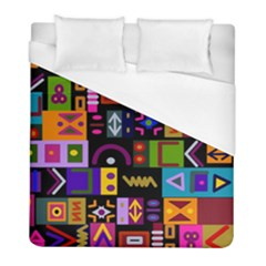 Abstract A Colorful Modern Illustration Duvet Cover (full/ Double Size)