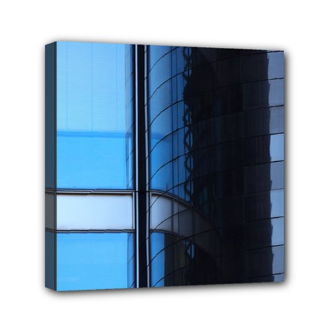 Modern Office Window Architecture Detail Mini Canvas 6  X 6  by Simbadda