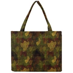 Textured Camo Mini Tote Bag by Simbadda