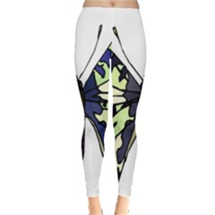 A Colorful Butterfly Image Leggings
