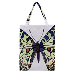 A Colorful Butterfly Image Classic Tote Bag by Simbadda