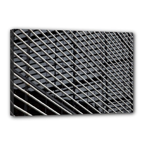 Abstract Architecture Pattern Canvas 18  X 12  by Simbadda