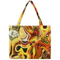 Colourful Abstract Background Design Mini Tote Bag by Simbadda