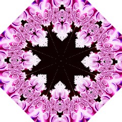 Fractal In Pink Lovely Straight Umbrellas by Simbadda