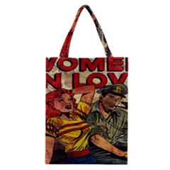 Woman In Love Classic Tote Bag by Valentinaart