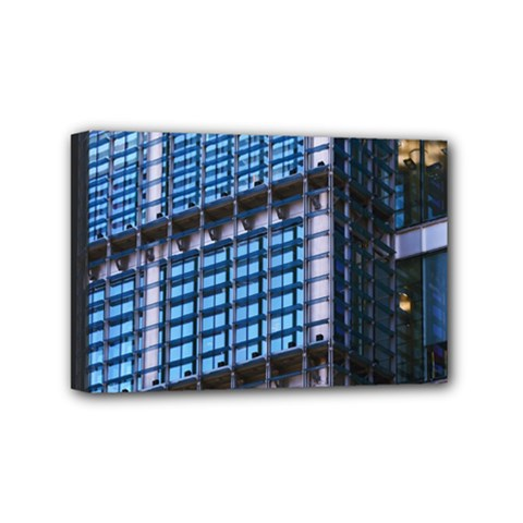 Modern Business Architecture Mini Canvas 6  X 4  by Simbadda