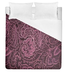 Abstract Purple Background Natural Motive Duvet Cover (queen Size) by Simbadda