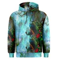 Beautiful Peacock Colorful Men s Pullover Hoodie
