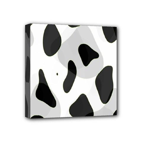 Abstract Venture Mini Canvas 4  X 4  by Simbadda