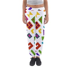 A Colorful Modern Illustration For Lovers Women s Jogger Sweatpants by Simbadda