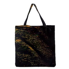 Abstract Background Grocery Tote Bag by Simbadda