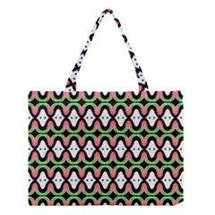 Abstract Pinocchio Journey Nose Booger Pattern Medium Tote Bag by Simbadda