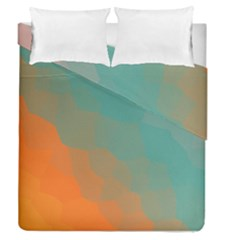 Abstract Elegant Background Pattern Duvet Cover Double Side (Queen Size) by Simbadda