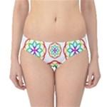 Geometric Circles Seamless Rainbow Colors Geometric Circles Seamless Pattern On White Background Hipster Bikini Bottoms