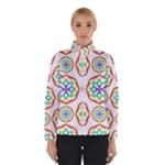 Geometric Circles Seamless Rainbow Colors Geometric Circles Seamless Pattern On White Background Winterwear