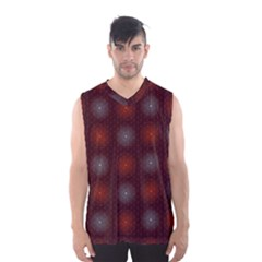 Abstract Dotted Pattern Elegant Background Men s Basketball Tank Top by Simbadda