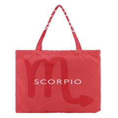 Zodiac Scorpio Medium Tote Bag by Mariart