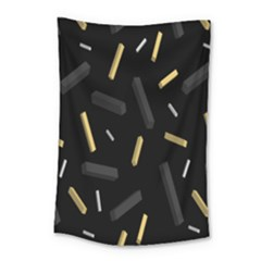 Rectangle Chalks Small Tapestry by Mariart