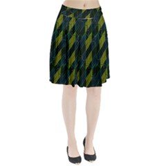 Modern Geometric Seamless Pattern Pleated Skirt by dflcprintsclothing