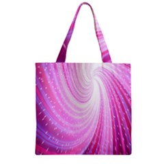 Vortexglow Abstract Background Wallpaper Zipper Grocery Tote Bag by Simbadda
