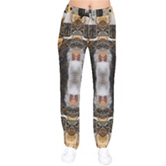 cat  Drawstring Pants by 3Dbjvprojats