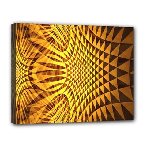 Patterned Wallpapers Canvas 14  X 11  by Simbadda