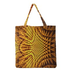 Patterned Wallpapers Grocery Tote Bag by Simbadda