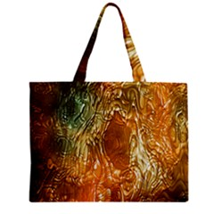 Light Effect Abstract Background Wallpaper Zipper Mini Tote Bag by Simbadda