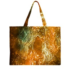 Light Effect Abstract Background Wallpaper Zipper Large Tote Bag by Simbadda