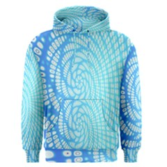 Abstract Pattern Neon Glow Background Men s Pullover Hoodie