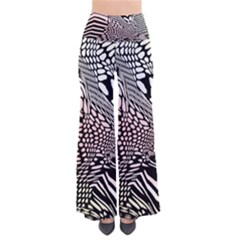 Abstract Fauna Pattern When Zebra And Giraffe Melt Together Pants by Simbadda