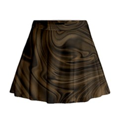 Abstract Art Mini Flare Skirt