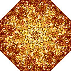 Yellow Abstract Background Golf Umbrellas by Simbadda