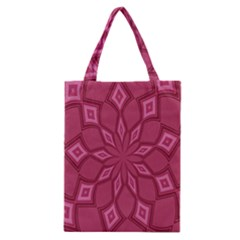 Fusia Abstract Background Element Diamonds Classic Tote Bag by Nexatart
