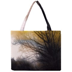 Tree Art Artistic Abstract Background Mini Tote Bag by Nexatart