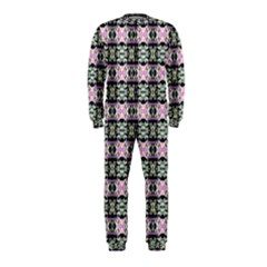 Colorful Pixelation Repeat Pattern Onepiece Jumpsuit (kids) by Nexatart