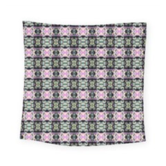 Colorful Pixelation Repeat Pattern Square Tapestry (small) by Nexatart