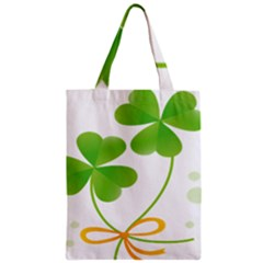Flower Floralleaf Green Reboon Zipper Classic Tote Bag by Mariart