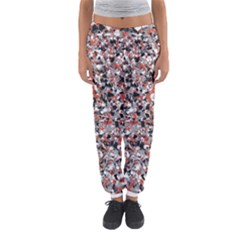 Hurley Mix Electric Electric Red Blend Women s Jogger Sweatpants by Mariart