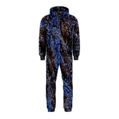 Cracked Mud And Sand Abstract Hooded Jumpsuit (kids) by Nexatart