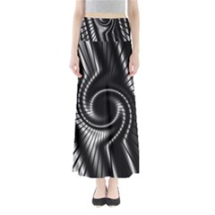 Abstract Background Resembling To Metal Grid Maxi Skirts