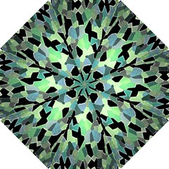 Wallpaper Background With Lighted Pattern Hook Handle Umbrellas (small) by Nexatart