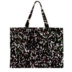 Camouflaged Seamless Pattern Abstract Zipper Mini Tote Bag by Nexatart