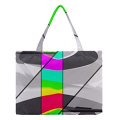 Colors Fadeout Paintwork Abstract Medium Tote Bag by Nexatart