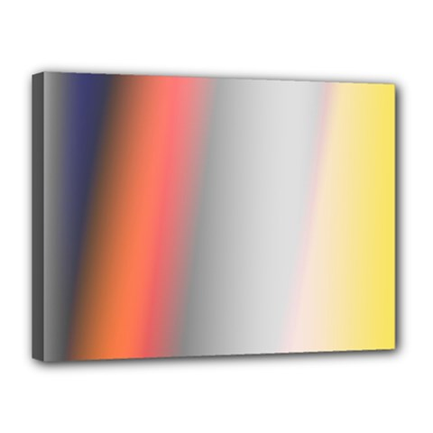 Digitally Created Abstract Colour Blur Background Canvas 16  X 12  by Nexatart