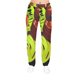 Neutral Abstract Picture Sweet Shit Confectioner Drawstring Pants by Nexatart