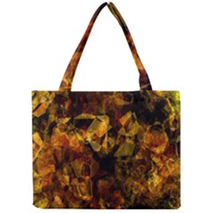 Autumn Colors In An Abstract Seamless Background Mini Tote Bag by Nexatart