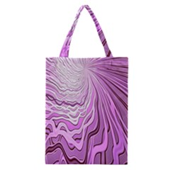 Light Pattern Abstract Background Wallpaper Classic Tote Bag by Nexatart