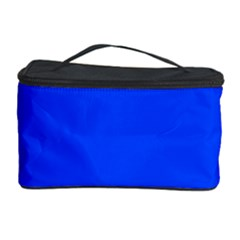 Plain Blue Cosmetic Storage Case by Jojostore
